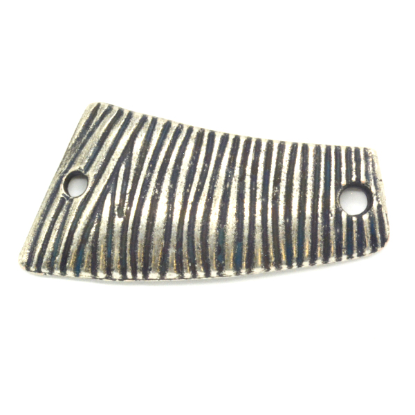 Asymmetric Striped pattern Connector with two side holes