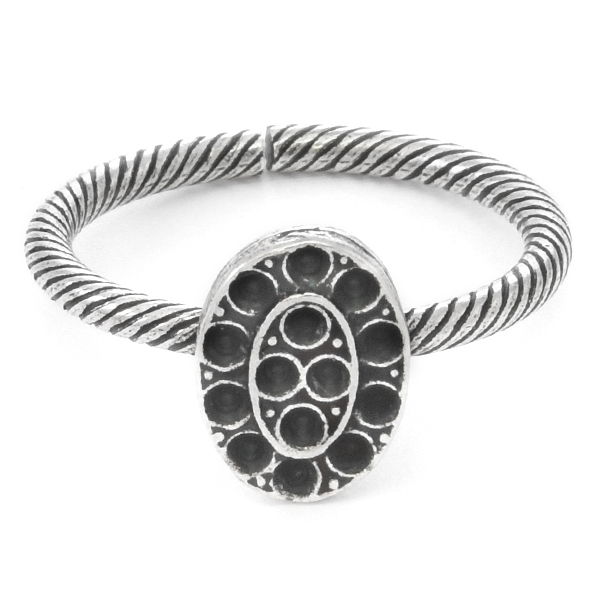 8pp Oval Ring base