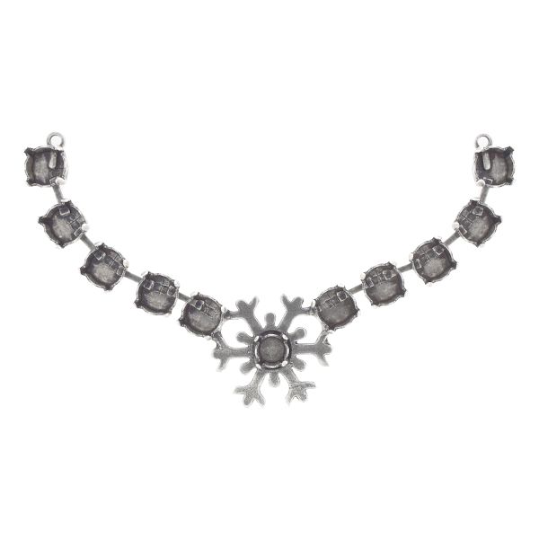 29ss, 39ss Snowflake Centerpiece for Necklace