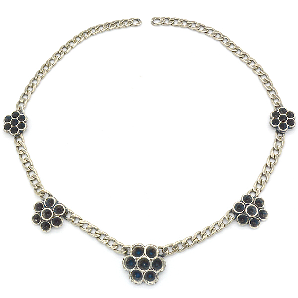 24pp, 32pp, 24ss Flowers flat gourmet necklace base
