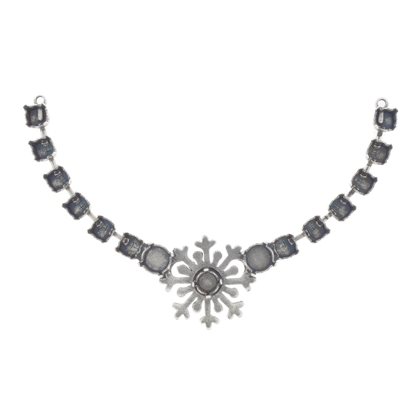 29ss, 39ss Snowflake cup chain Centerpiece for Necklace