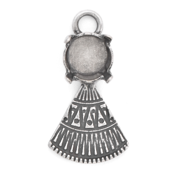 39ss with ethnic triangle element Pendant base