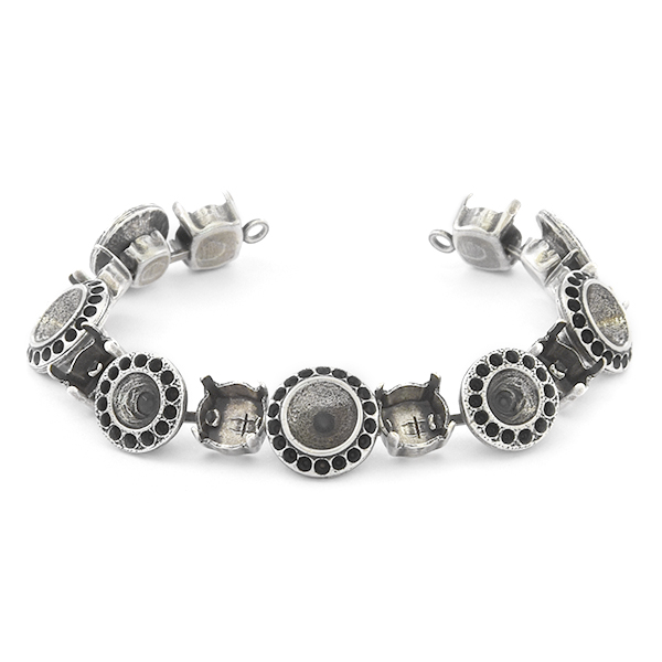 8pp, 29ss, 39ss Cup chain Bracelet base