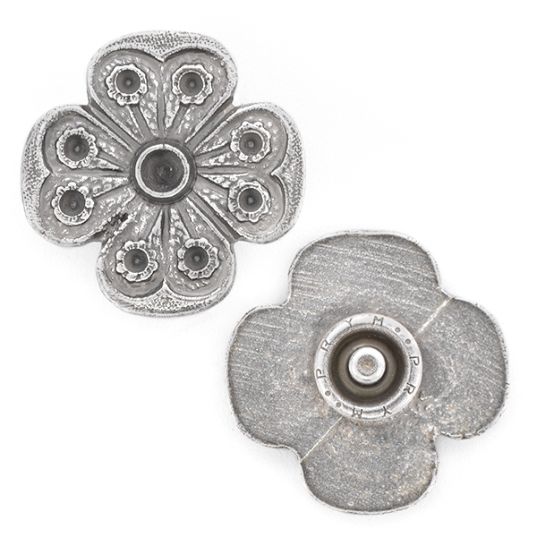 18pp, 32pp Flower Snap Button Jewelry