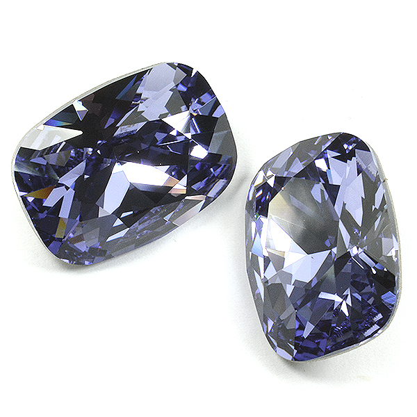 13-18mm Cushion Fancy Stone Tanzanite color Swarovski 4568