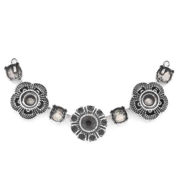 24pp, 29ss, 39ss Flower Centerpiece for Necklace