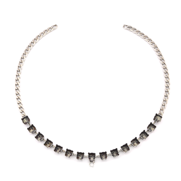 29ss cup chain Choker Necklace base with loop for pendant