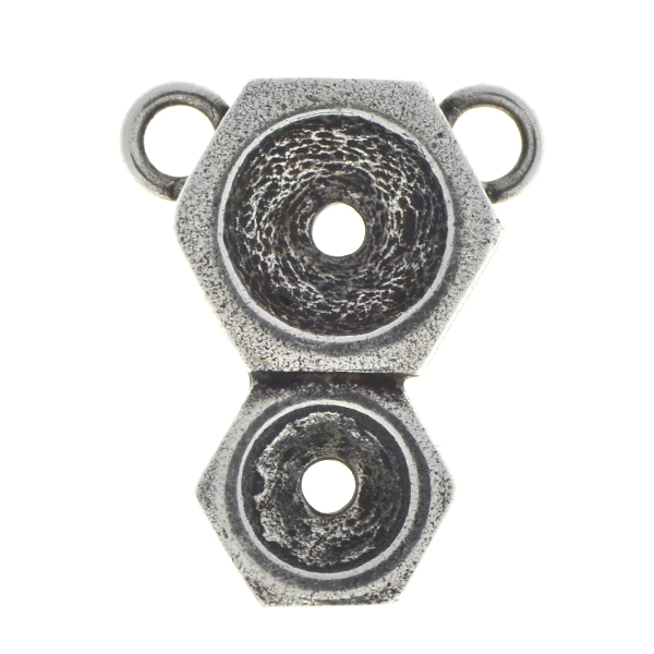 29ss, 39ss Screw nut vertical pendant base with two loops