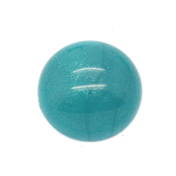 12mm Turquoise cabochon