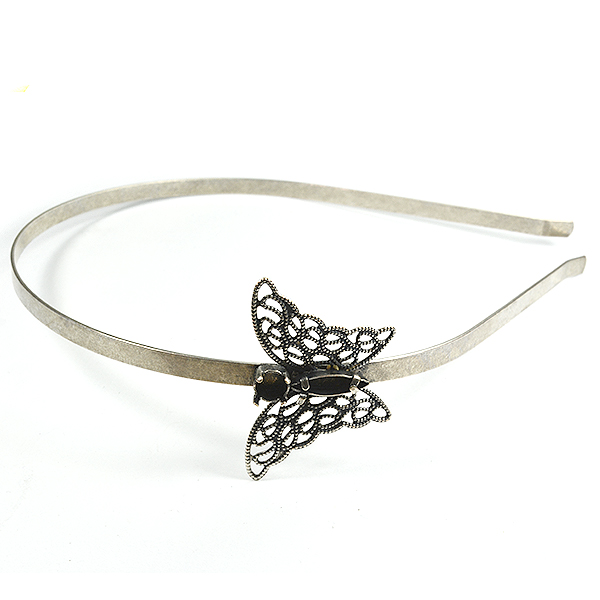 Headband with 15-4 Navette butterfly Element