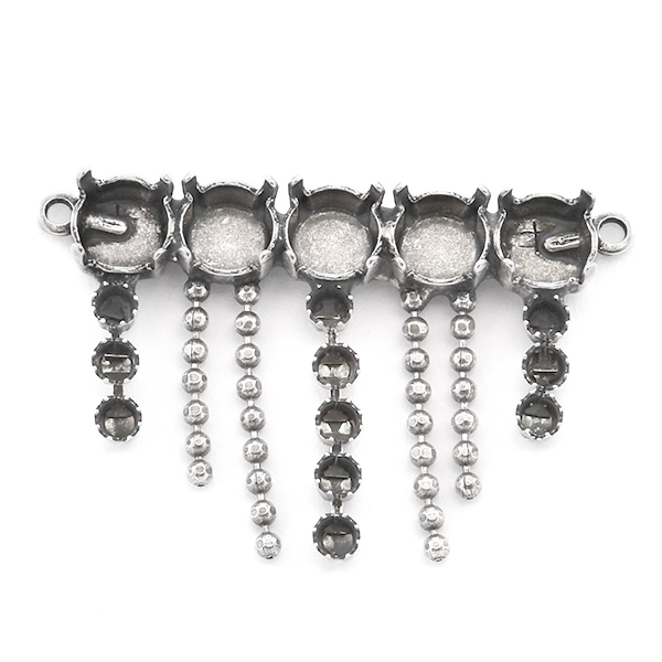 24pp, 39ss Pendant base with hanging ball chain