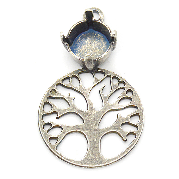 39ss Tree of Life pentant base