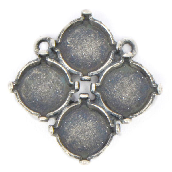 39ss Cluster Pendant Base with 2 side loops