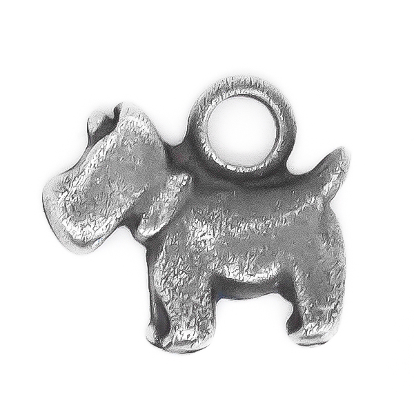 Dog Charm with one top loop