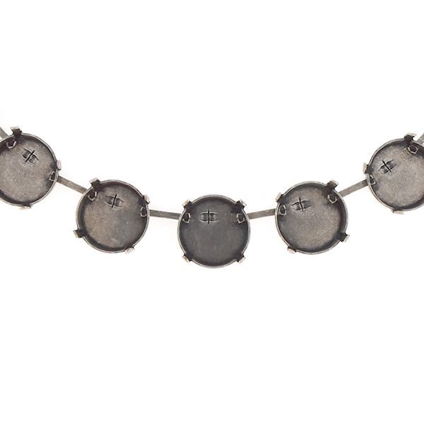 14mm Rivoli SW 1122 Cup chain for Necklace
