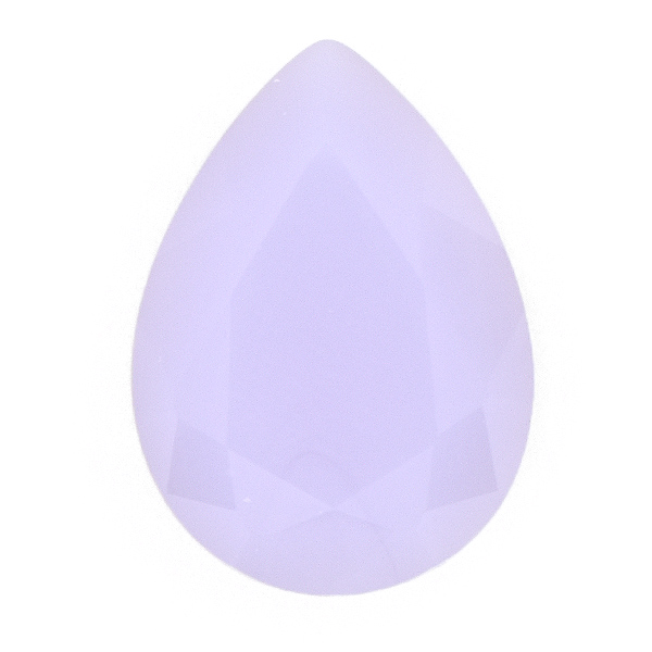 Opaque Rose Water Glass Stone for 18x13mm Pear shape setting - 2pcs pack