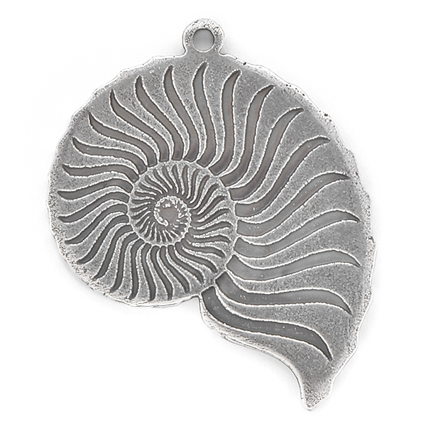 Sea Shell Pendant with top loop