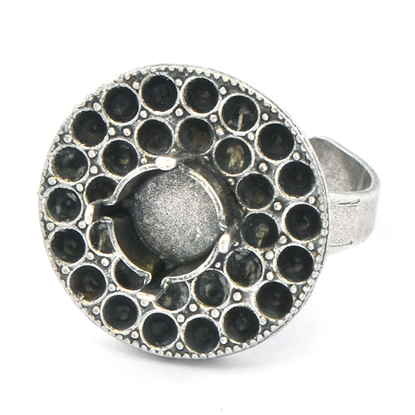 18pp, 39ss Round Adjustable Ring base