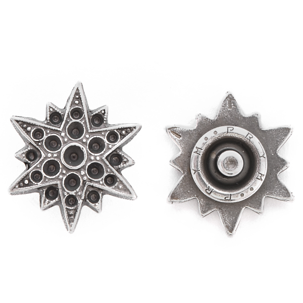 8pp, 14pp, 18pp North Star Snap Button Jewelry