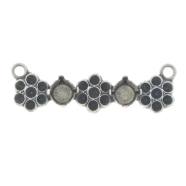 18pp, 29ss Bar pendant base with flowers