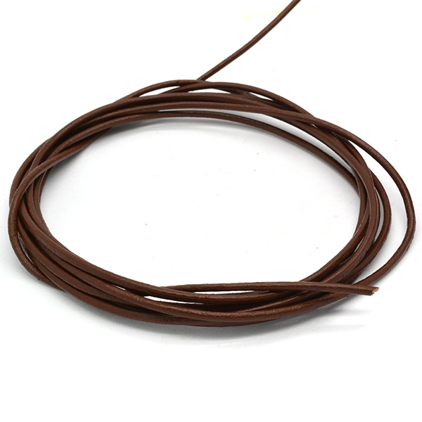 2mm Light Brown color leather