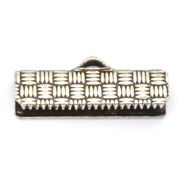 Ribbon crimp ends for Flat cord 20mm-price for 10pcs