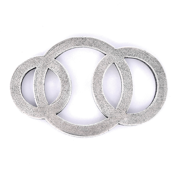 Three Hollow Circles jewelry connector
