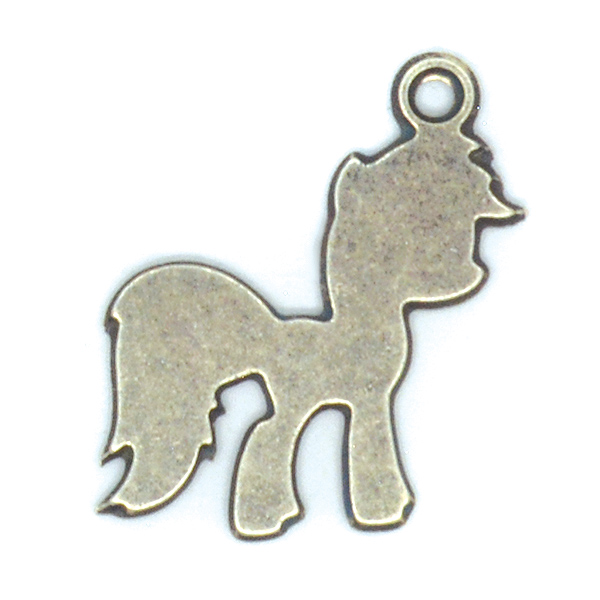 Pony Charm with one top loop
