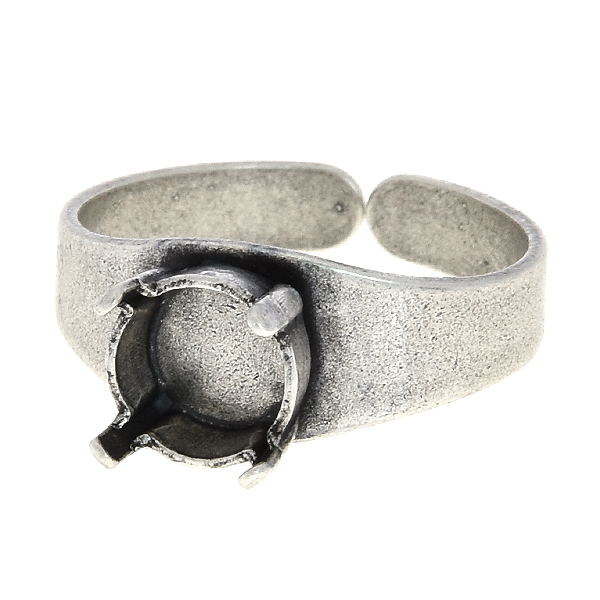 39ss Solitaire adjustable ring base