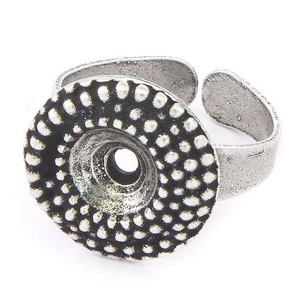 39ss Round Dotted Ring base