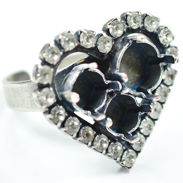Heart ring base 29ss and 39ss