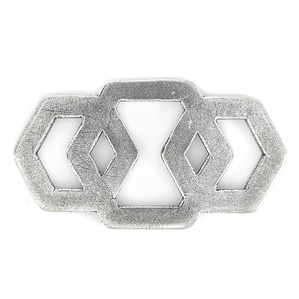 Three Hollow Hexagons Jewelry connector