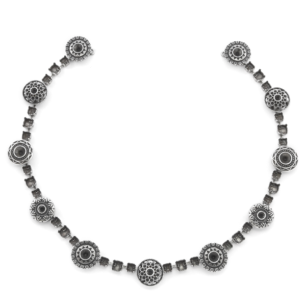 8pp, 32pp, 24ss, 29ss Ethnic, Aztec settings Necklace