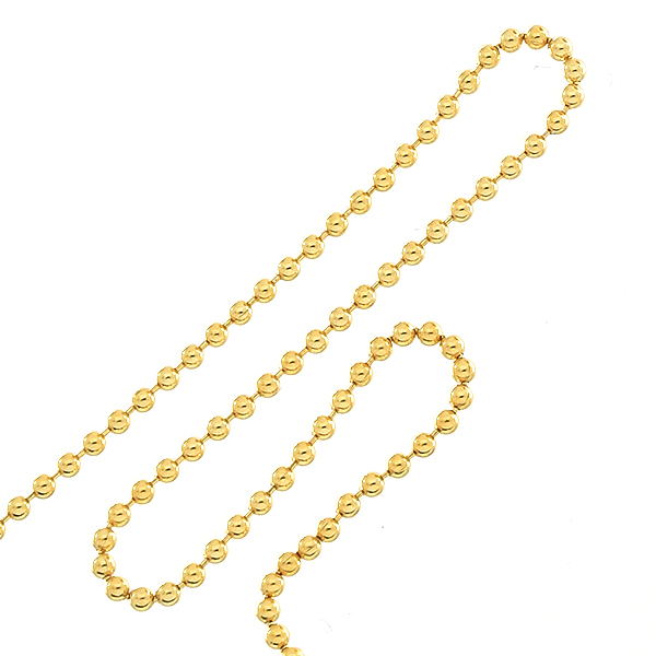 1.2mm Gold-filled ball chain