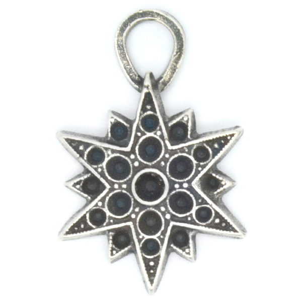 8pp, 14pp and 18pp North Star pendant base with one top loop  pack