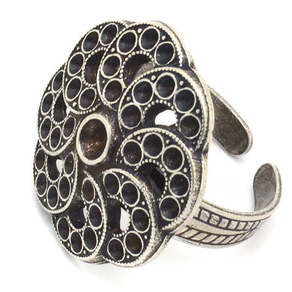 22mm Flower ring base with PP11 and PP32