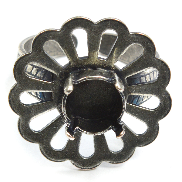 Flower ring base with 39ss setting