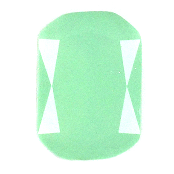 Pacific Opal Glass Stone 4610 Octagon 13X18 setting