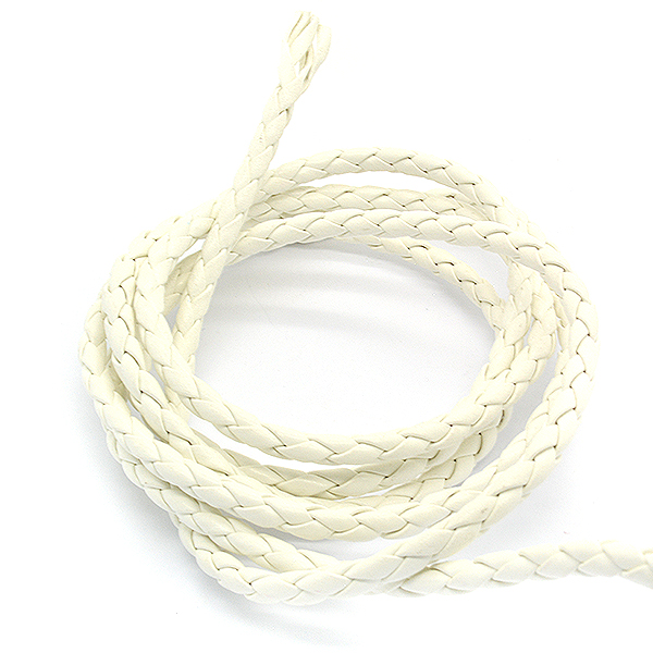 3mm White color Imitation leather