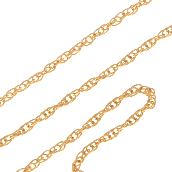 1.2mm Gold-filled Rope chain