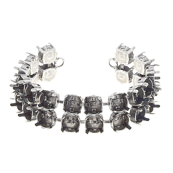 39ss two rows cup chain bracelet base