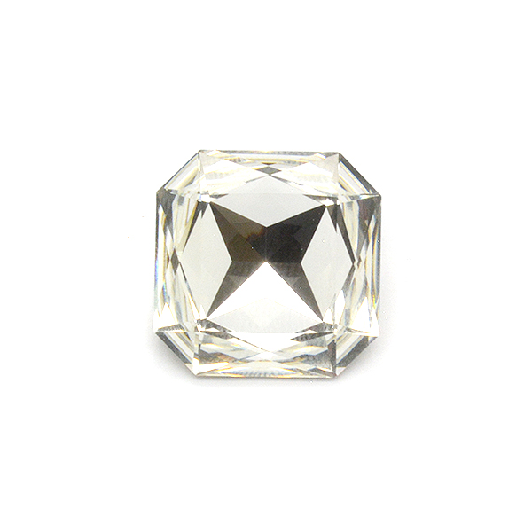 23mm Fancy Square stone Crystal color Swarovski 4675