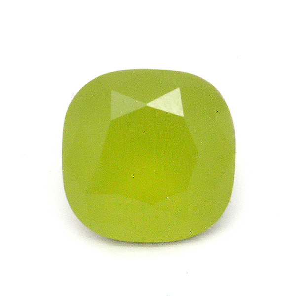 Opaque Light green Glass Stone for 4470 12X12mm Square setting