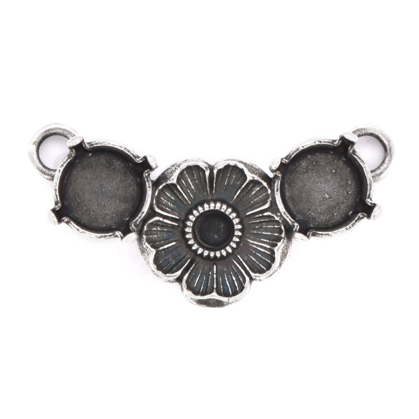 24pp, 39ss Pendant base with Flower in the center