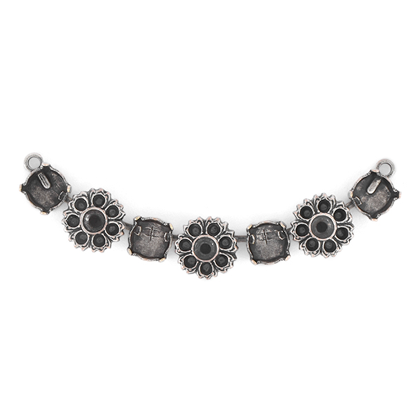 14pp, 32pp, 39ss Cup chain Centerpiece for Necklace with Flowers