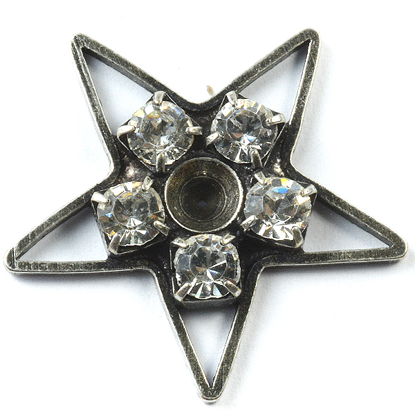 SW Star pendant base with 32PP setting