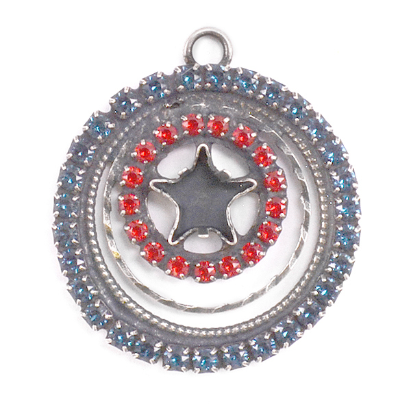 Round 29mm with 10mm Star setting with crystals