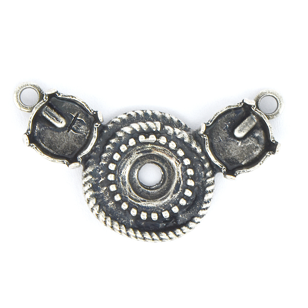 39ss Wave Round Centerpiece for Necklace