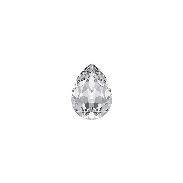 Swarovski 4320 Pear shape 6x4mm Crystal color - 5pcs