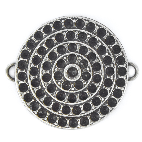 18pp, 24pp Round Pendant base with two side loops